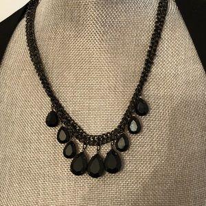 Jewelry - FREE W PURCHASE Black Statement Necklace